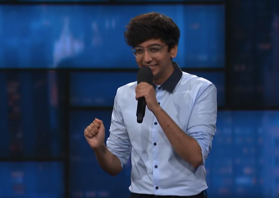 Nik Dodani on The Late Show with Stephen Colbert