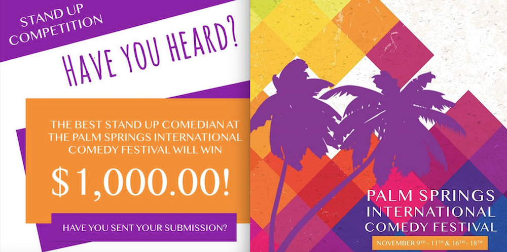 Stand-up contest at inaugural Palm Springs comedy fest includes cash prize and Step1 special