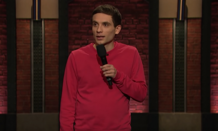 Daniel Simonsen on Late Night with Seth Meyers