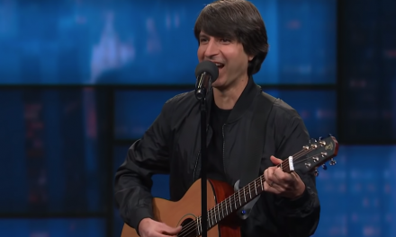 Demetri Martin on The Late Show with Stephen Colbert