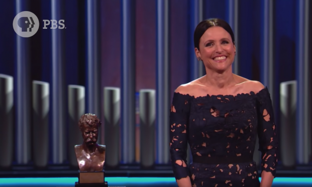 Watch Julia Louis-Dreyfus accept her Mark Twain Prize