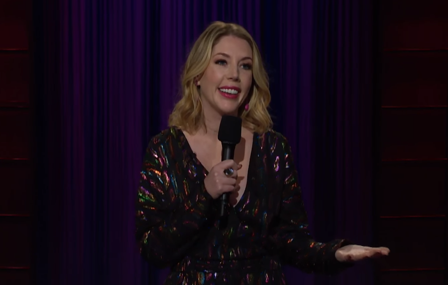 Katherine Ryan on The Late Late Show with James Corden