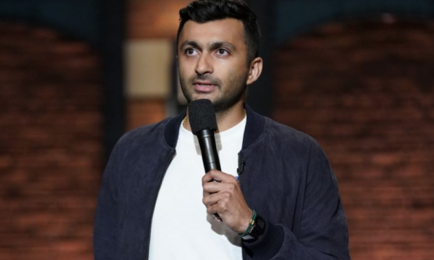 Nimesh Patel reflects on getting kicked offstage at Columbia University showcase