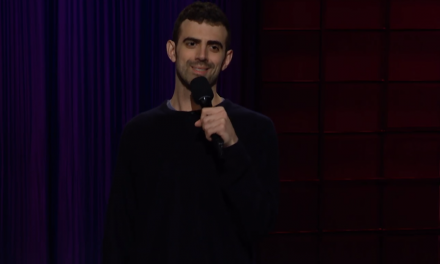 Sam Morril on The Late Late Show with James Corden