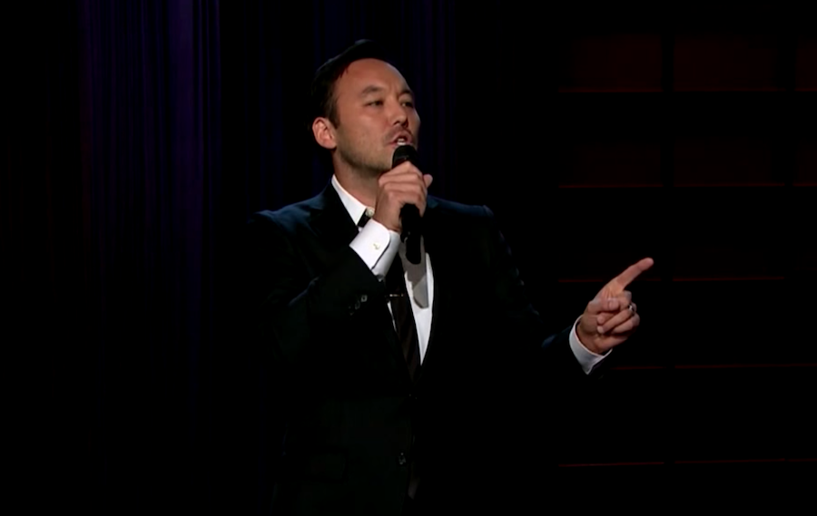 Steve Byrne on The Late Late Show with James Corden