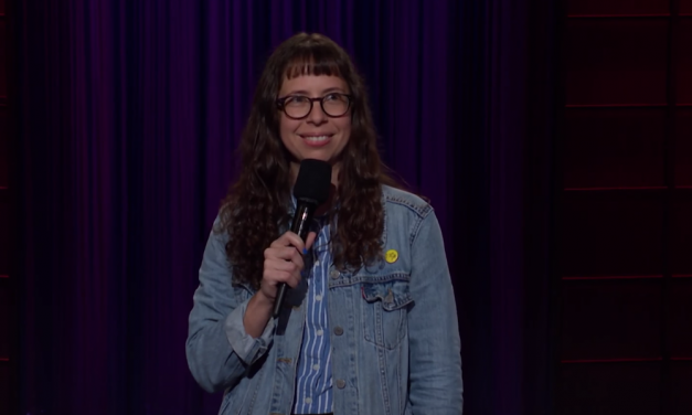 Paige Weldon on The Late Late Show with James Corden