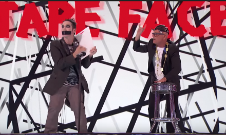 Tape Face, Paul Zerdin and Drew Lynch perform on America's Got Talent: The Champions