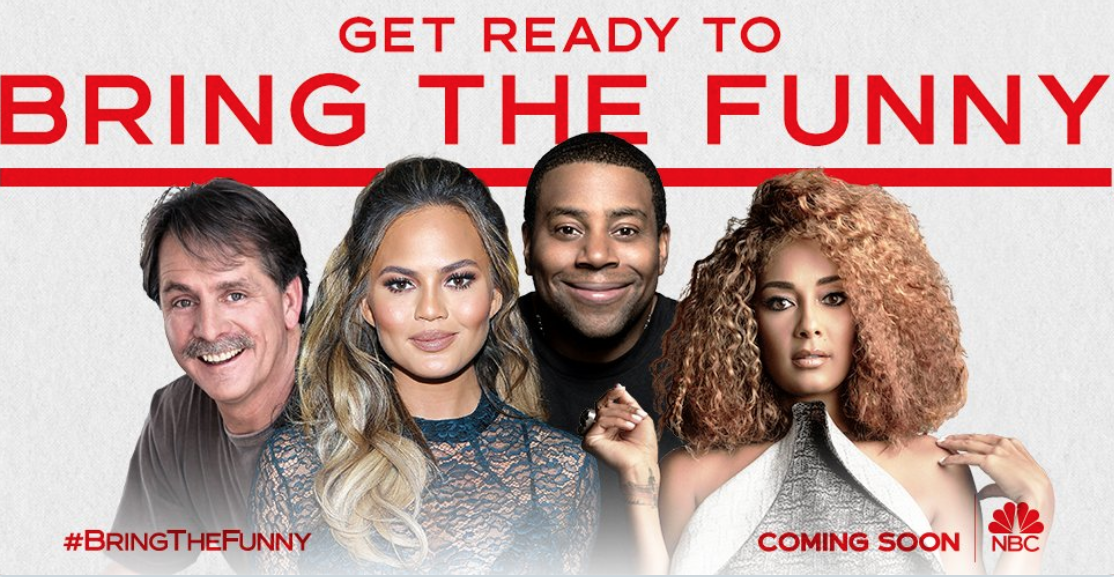 "NBC and JFL bringing ""Bring The Funny"" comedy contest to primetime"