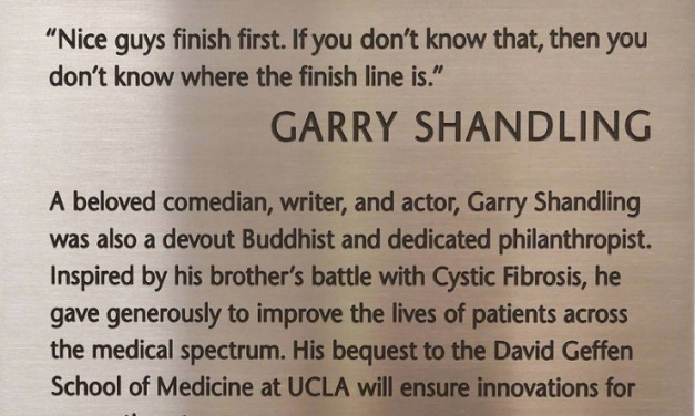Garry Shandling's estate donates $15.2 million to UCLA for medical research