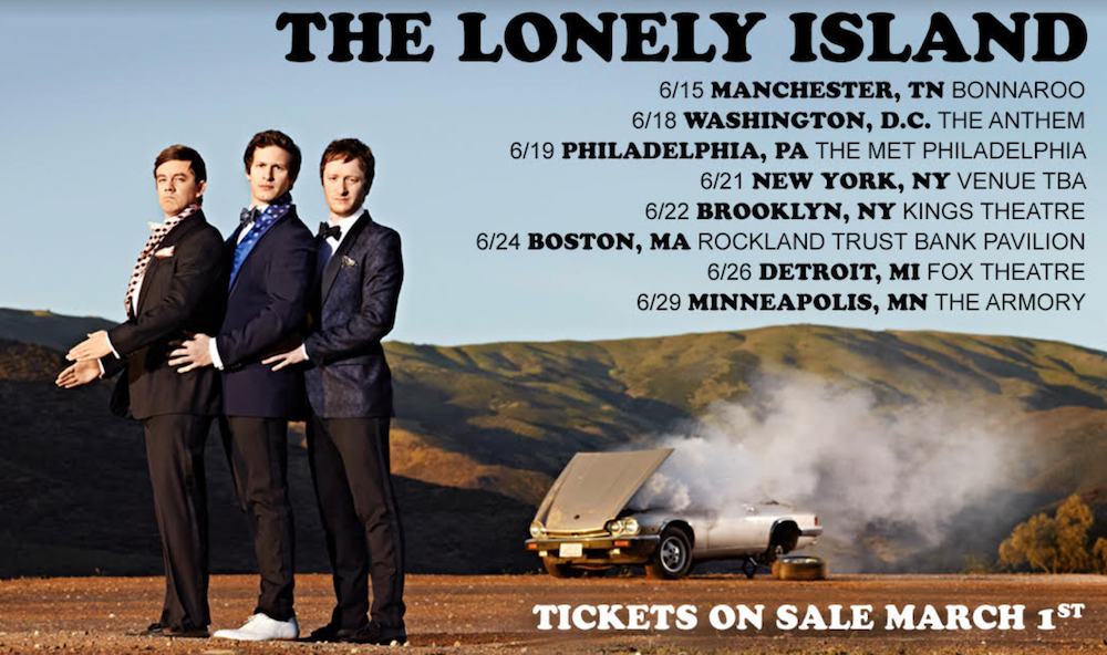 The Lonely Island announces first-ever tour, heading across America summer 2019