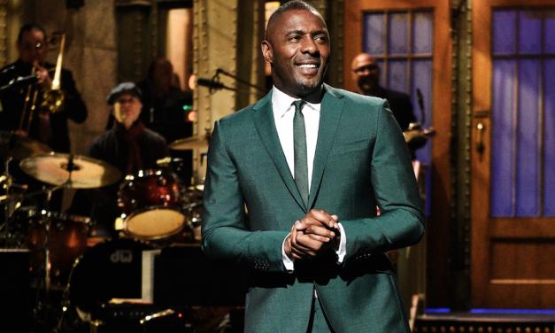 In his SNL monologue, Idris Elba remembers working the door at Carolines on Broadway