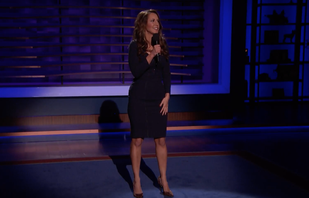 Rachel Feinstein on Conan