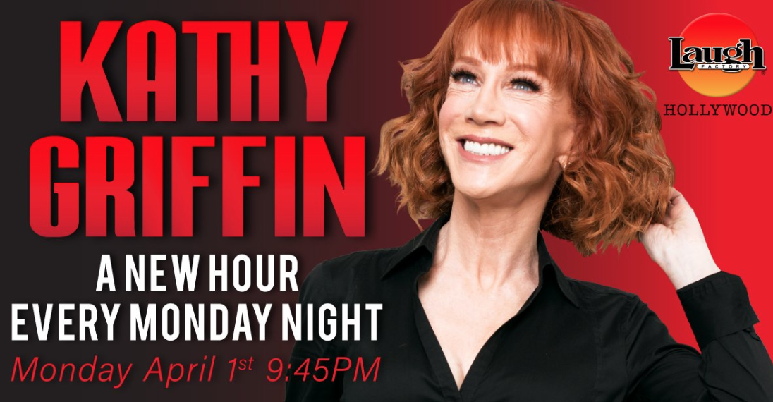 Kathy Griffin to hold Monday night residency at the Laugh Factory during April 2019
