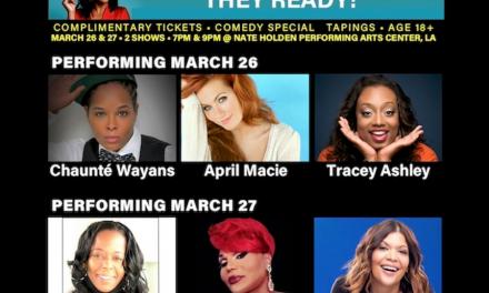 Tiffany Haddish presenting six other comedians' first Netflix half-hour specials