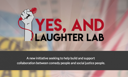 "New nonprofit project ""Yes, And…Laughter Lab"" will promote purpose-driven comedy"
