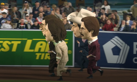 "San Diego Padres home games now feature ""Anchorman"" races"