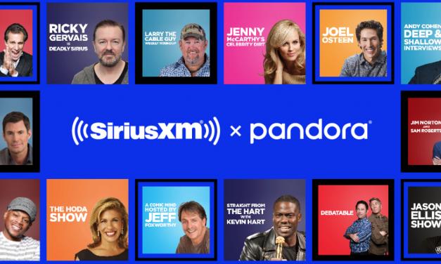 SiriusXM talk shows now available via Pandora podcasts