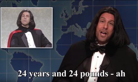 Adam Sandler's Saturday Night Live monologue, return of Opera Man, and his Chris Farley song