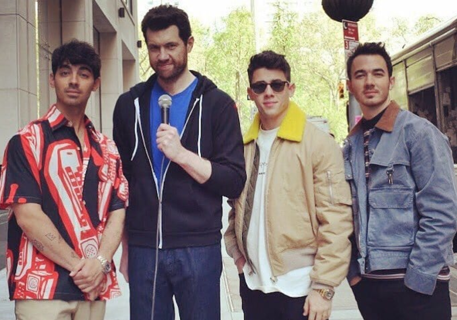 "Jonas Brothers join Billy Eichner ""on the Street"""