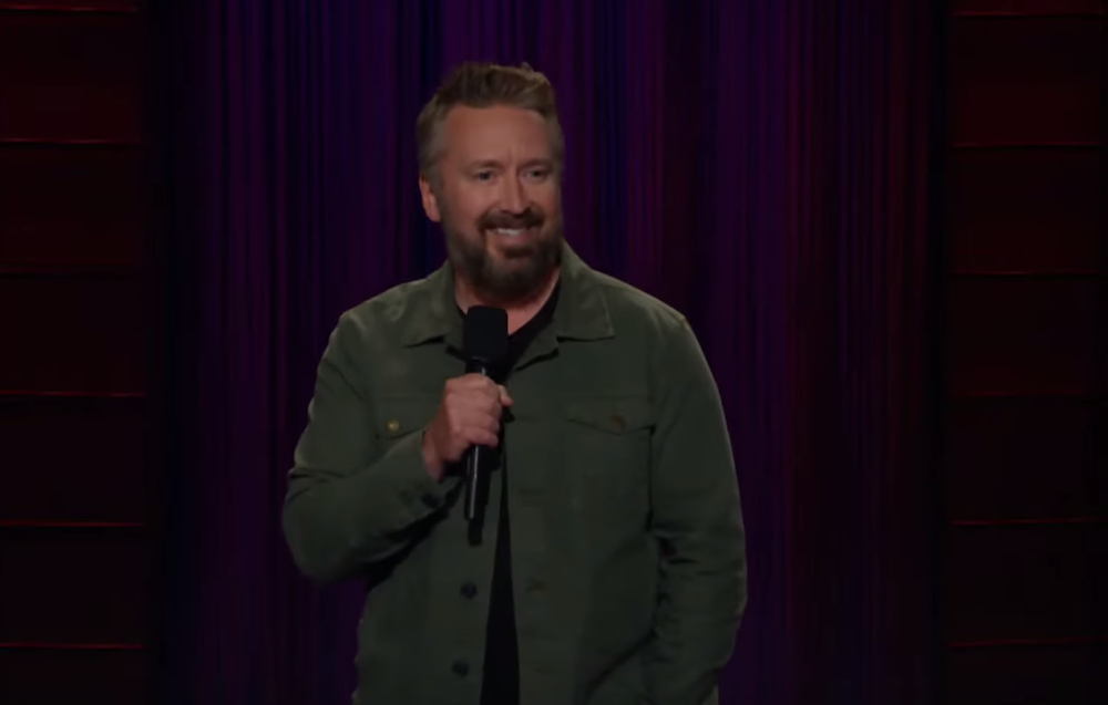 Chad Daniels on The Late Late Show with James Corden