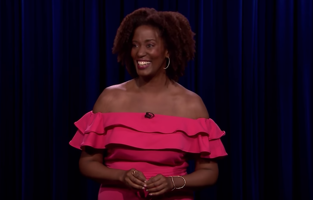 Chloé Hilliard on The Tonight Show Starring Jimmy Fallon
