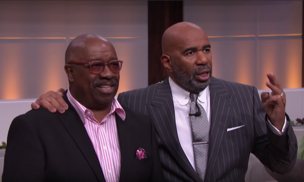 Steve Harvey talks about meeting J. Anthony Brown in 1985