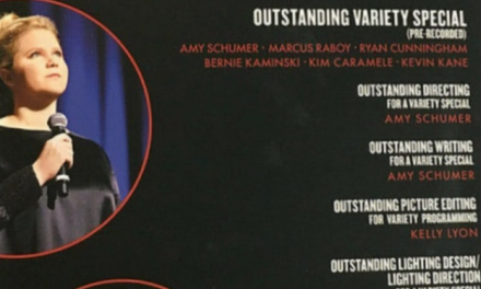 "Amy Schumer should win the Emmy for best ""For Your Consideration"" video for her Netflix special ""Growing"""