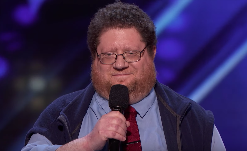 Kevin Schwartz auditions for America's Got Talent 2019
