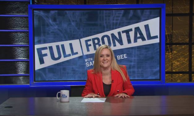 Samantha Bee highlights her status as the only woman standing in late-night TV for Emmy consideration