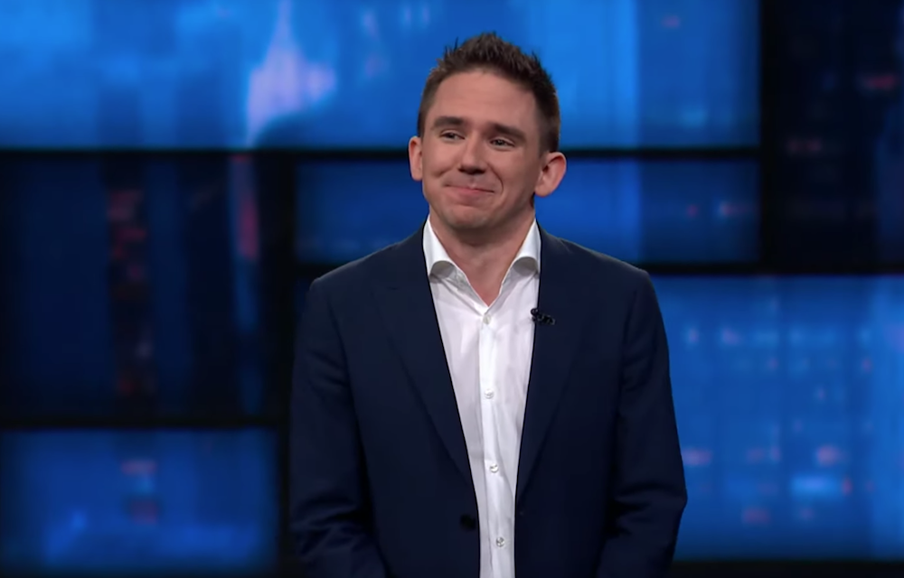 Steven Rogers on The Late Show with Stephen Colbert
