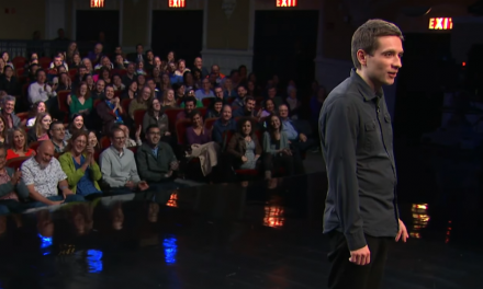 Daniel Simonsen on The Late Show with Stephen Colbert