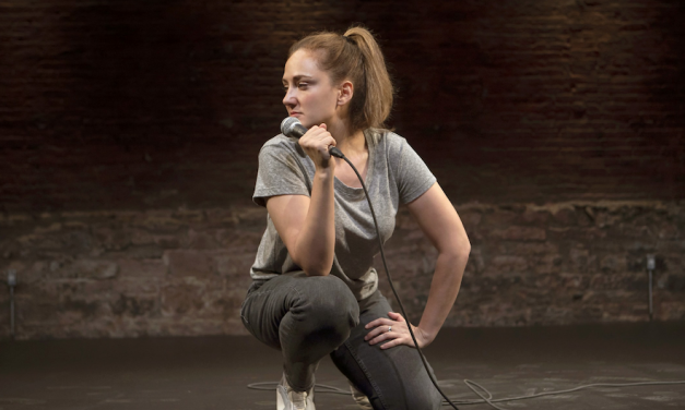 "Jacqueline Novak, ""Get On Your Knees,"" at the Cherry Lane Theatre"