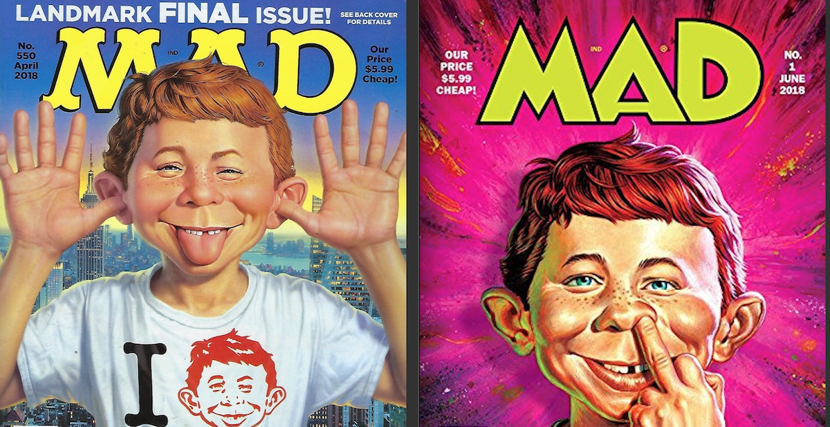 MAD magazine is dying a slow death, again