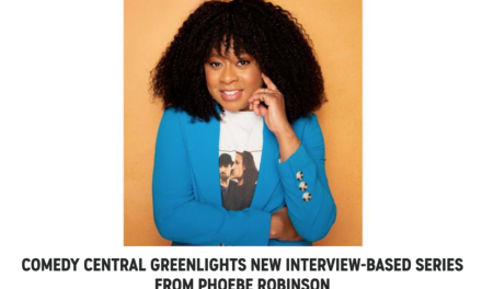 Phoebe Robinson talk show a go at Comedy Central