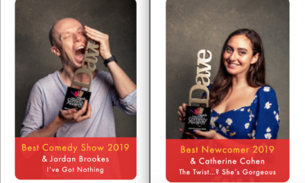 Jordan Brookes, Catherine Cohen win top prizes at 2019 Edinburgh Comedy Awards