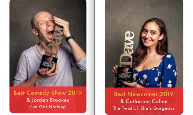 Jordan Brookes, Catherine Cohen win top prizes at 2019 Edinburgh Comedy Awards