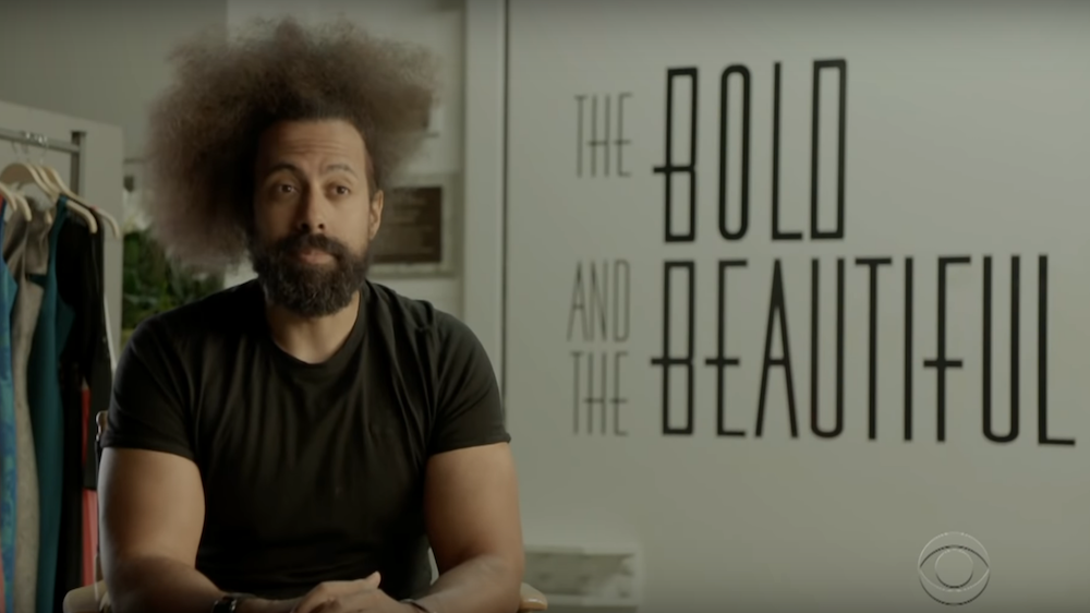 Reggie Watts joins the cast of CBS soap opera in bold and beautiful stunt casting