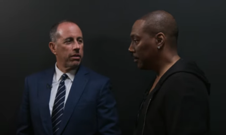 Watch Eddie Murphy and Jerry Seinfeld talk about the Mount Rushmore of Comedy