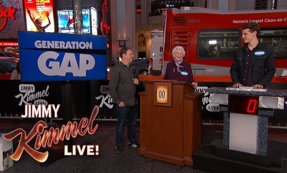 "ABC gives Jimmy Kimmel more airtime with game show ""Generation Gap"" plus more staging of live classic sitcoms"