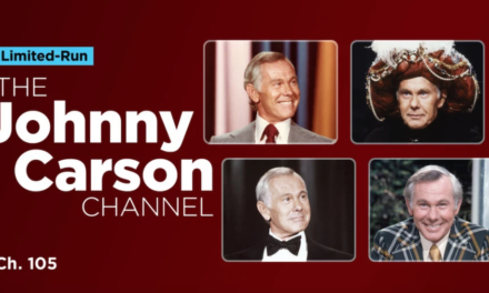 "For October 2019, SiriusXM Channel 105 becomes ""The Johnny Carson Channel"""