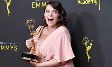 Rachel Bloom wins the Emmy Award for song in final season of Crazy Ex-Girlfriend