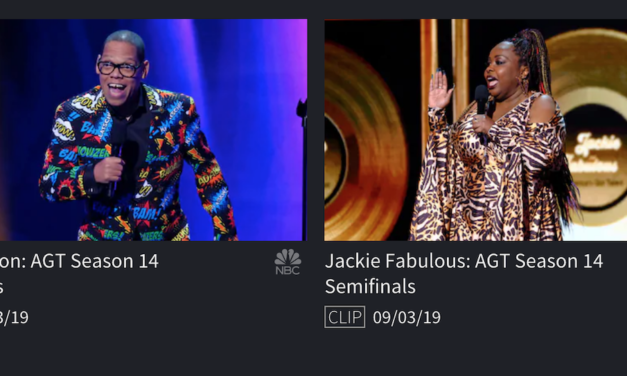 Watch Greg Morton and Jackie Fabulous perform on the live semis of 2019 America's Got Talent
