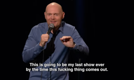 All Things Comedy aside, Bill Burr remains focused on his own work