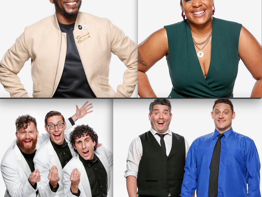 NBC's first four finalists for Bring The Funny