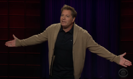 Jay Larson on The Late Late Show with James Corden