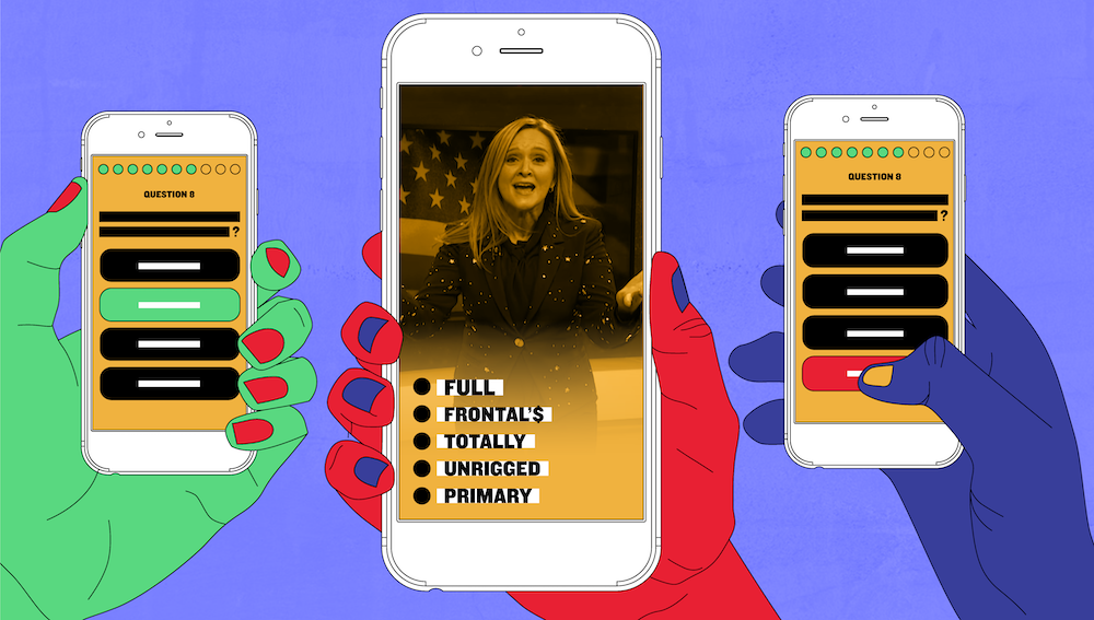 Samantha Bee and her Full Frontal team launching a new election app: Totally Unrigged Primary