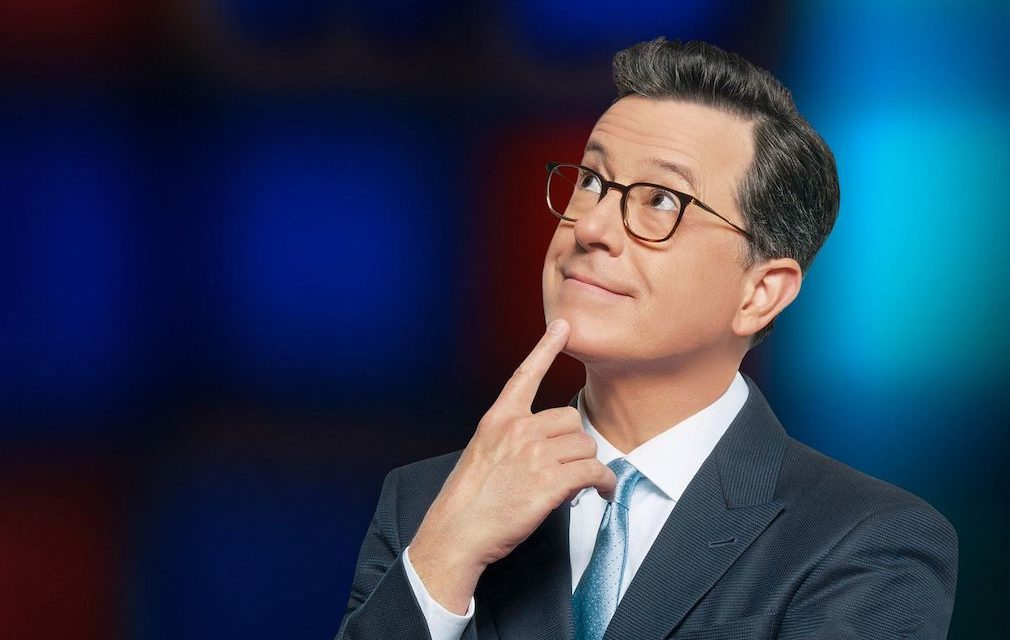 Pop TV offering next-morning reruns of The Late Show with Stephen Colbert