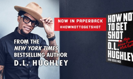 D.L. Hughley making Comedy Central special based on his book, How Not To Get Shot