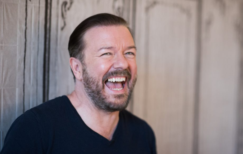 Ricky Gervais will return to host the 2020 Golden Globes