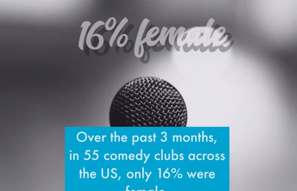 Project Comedy Club Database finds few women booked across America this fall